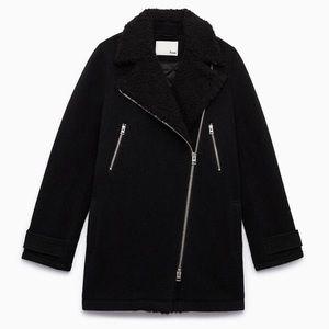 Aritzia - Wilfred Free Wool Coat - XS
